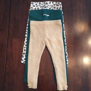 💚💜Bundle three pairs of 2T Janie and Jack Pants